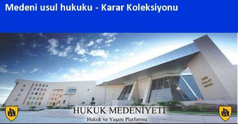 MEDENİ USUL HUKUKU Koleksiyonu