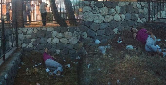 Eski savcı bayram bozkurt, izmir'de polisten kaçmak isterken ayağını kırdı