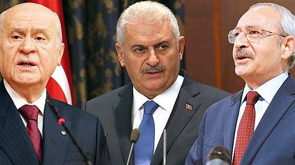 Anayasa değişikliğine üç lider karar verecek