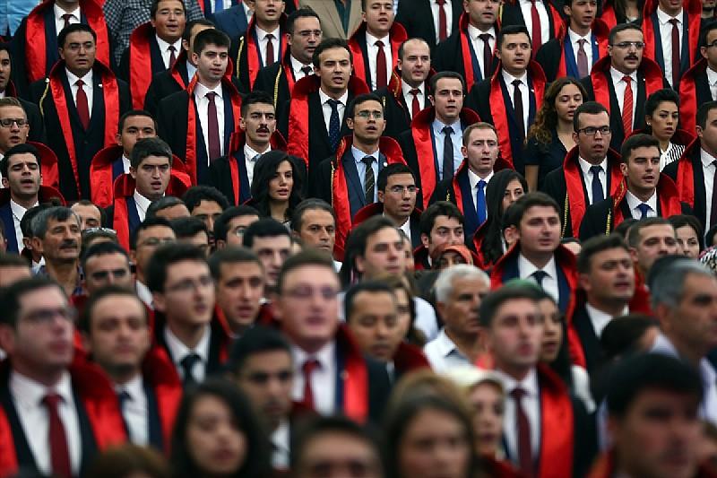 3 Bin 300 Hakim Ve Savcı Adayının Eğitimi Devam Ediyor